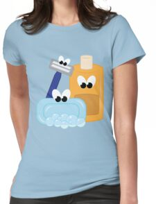 Bath Time Womens Fitted T-Shirt