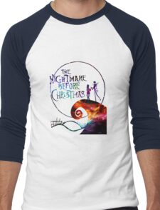 The Nightmare Before Christmas Men's Baseball ¾ T-Shirt