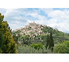 Gordes in Provence-Alpes-Côte d'Azur region in southeastern France Photographic Print