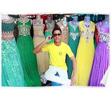 Saree Vendor Poster
