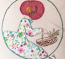 Thursday's Market Day Bonnet Lady by Urbanfringe