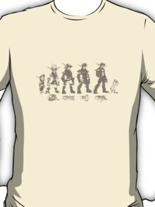 Jak and Daxter Saga - Black Sketch T-Shirt