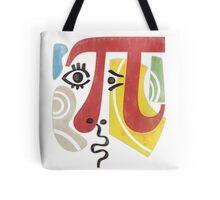 Pi-Casso Pi Symbol Tote Bag