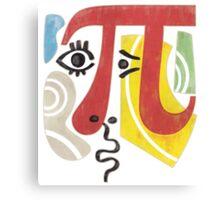 Pi-Casso Pi Symbol Canvas Print