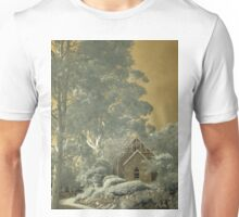 Old church in sepia Unisex T-Shirt