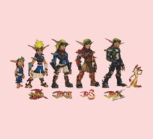 Jak and Daxter Saga - Full Colour Kids Clothes