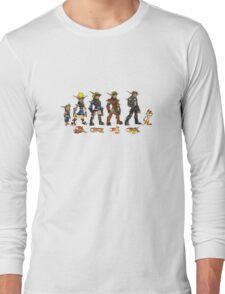 Jak and Daxter Saga - Full Colour Long Sleeve T-Shirt