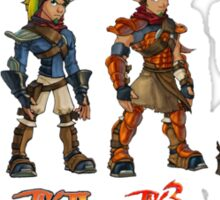 Jak and Daxter Saga - Full Colour Sticker