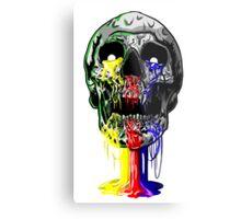 Heartless skull big Metal Print