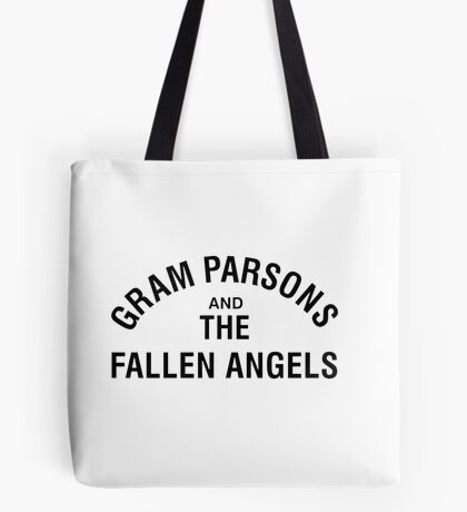 Gram Parsons and the Fallen Angels (black) Tote Bag
