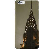 Chrysler building at twilight iPhone Case/Skin
