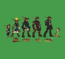 Jak and Daxter Saga - Full Colour Sketched by arunsundibob