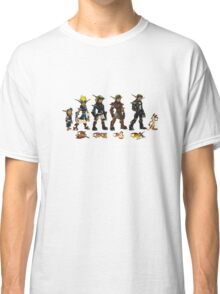 Jak and Daxter Saga - Full Colour Sketched Classic T-Shirt