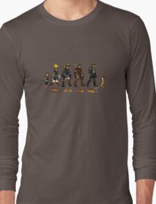 Jak and Daxter Saga - Full Colour Sketched Long Sleeve T-Shirt
