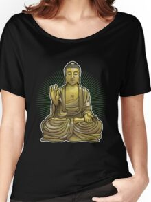 Buddha Statue Women's Relaxed Fit T-Shirt