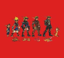 Jak and Daxter Saga - Simplified Colours One Piece - Long Sleeve