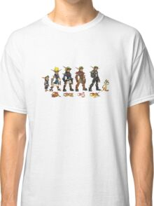 Jak and Daxter Saga - Simplified Colours Classic T-Shirt