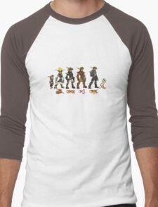 Jak and Daxter Saga - Simplified Colours Men's Baseball ¾ T-Shirt