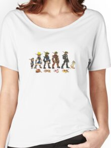 Jak and Daxter Saga - Simplified Colours Women's Relaxed Fit T-Shirt