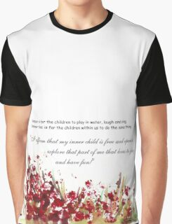 Affirmation for MY INNER CHILD Graphic T-Shirt
