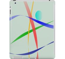 Warm Gray Simple Abstract Design iPad Case/Skin