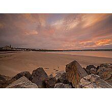 Thurso Sunset Photographic Print