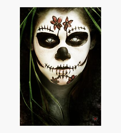 Death Mask Photographic Print