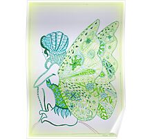 Fairy Green Poster