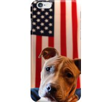 Pitbull for President by Byron Croft, Croft Photography iPhone Case/Skin