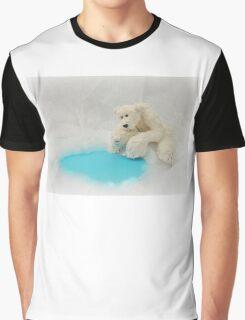 Handmade bears from Teddy Bear Orphans - Peppy Polar Bear Graphic T-Shirt