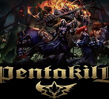 League of Legends Pentakill  by Speedlimate