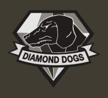 Metal Gear Solid V - Diamond Dogs (Monchromatic) by arunsundibob