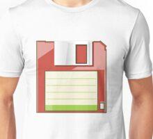 Red Floppy Unisex T-Shirt