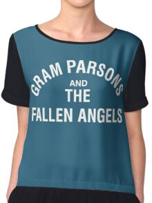 Gram Parsons and the Fallen Angels (white) Chiffon Top