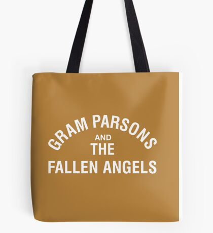 Gram Parsons and the Fallen Angels (white) Tote Bag