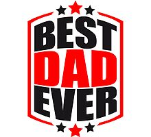 Cool Best Dad Ever Logo Design by Style-O-Mat