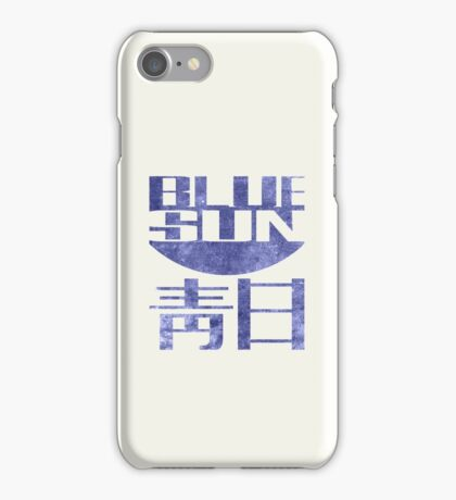 Blue Sun Vintage Style Shirt (Firefly/Serenity) iPhone Case/Skin
