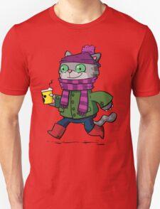 Winter Kitty Unisex T-Shirt