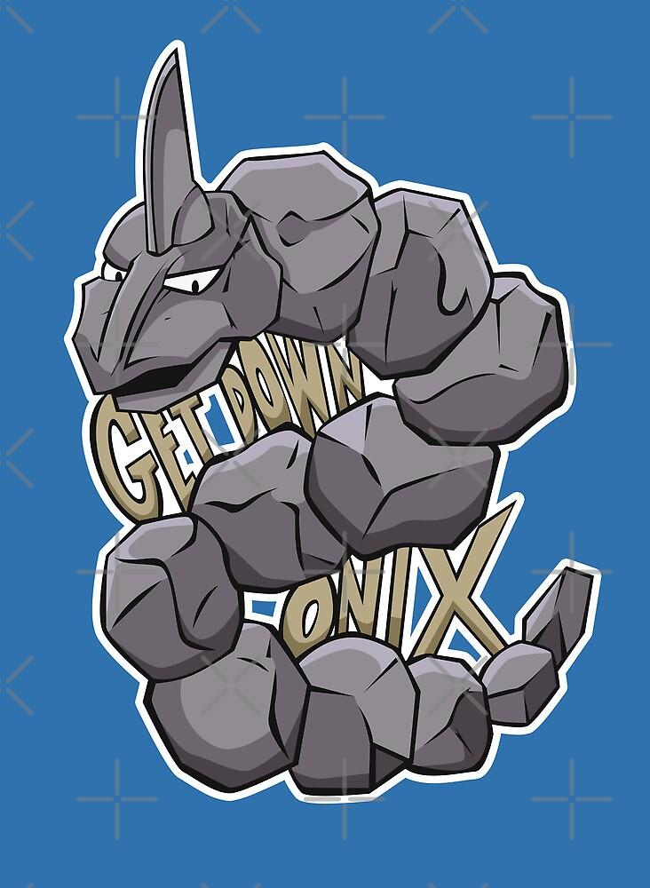 PokéPun - 'Get Down Onix' by Alex Clark
