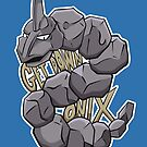 PokéPun - 'Get Down Onix' by Alex Clark