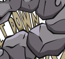 PokéPun - 'Get Down Onix' Sticker