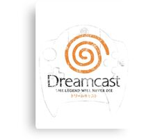Dreamcast Legend Canvas Print