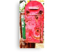 The Ole Postbox Canvas Print