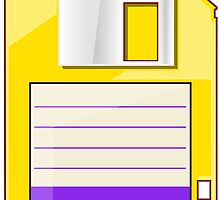 Yellow Floppy by Ewan T. Gibson