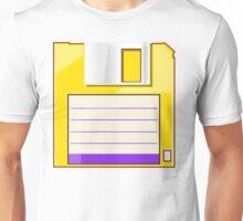 Yellow Floppy Unisex T-Shirt