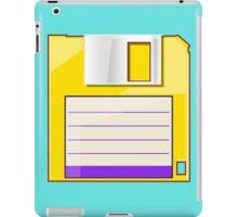 Yellow Floppy iPad Case/Skin