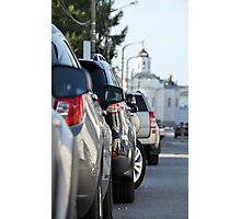 Street parking Photographic Print