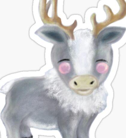 Wee Reindeer Sticker