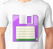 Purple Floppy Unisex T-Shirt