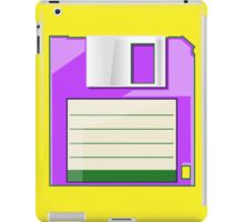Purple Floppy iPad Case/Skin